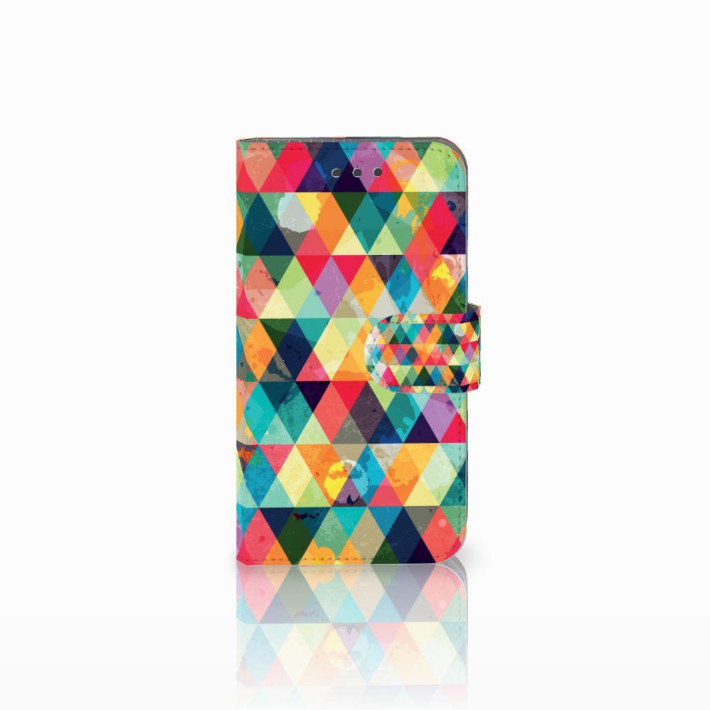 Samsung Galaxy Xcover 3 | Xcover 3 VE Uniek Boekhoesje Geruit