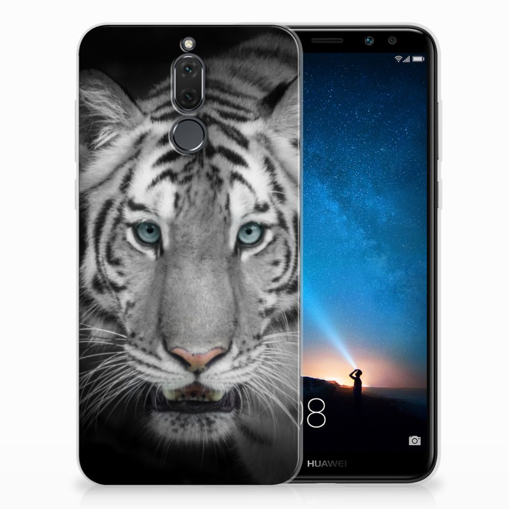 Huawei Mate 10 Lite TPU Hoesje Tijger