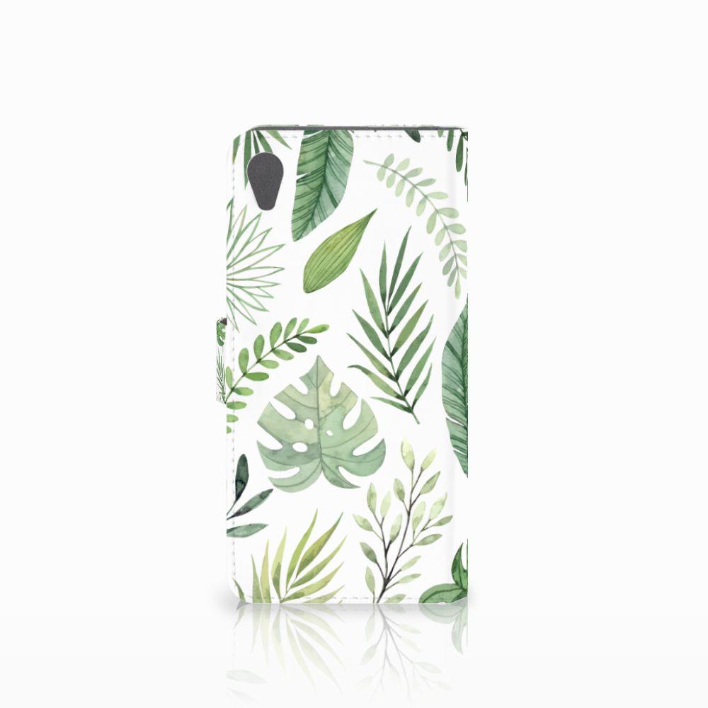 Sony Xperia Z5 Premium Hoesje Leaves