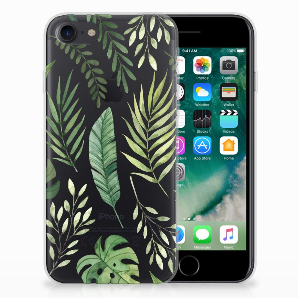 Apple iPhone 7 | 8 TPU Case Leaves