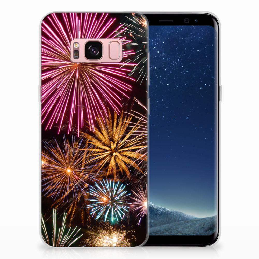 Samsung Galaxy S8 TPU Hoesje Design Vuurwerk