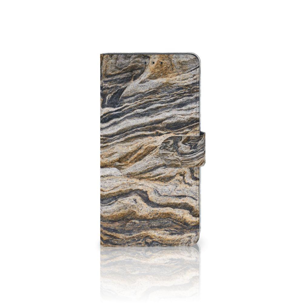Samsung Galaxy A8 Plus (2018) Boekhoesje Design Steen