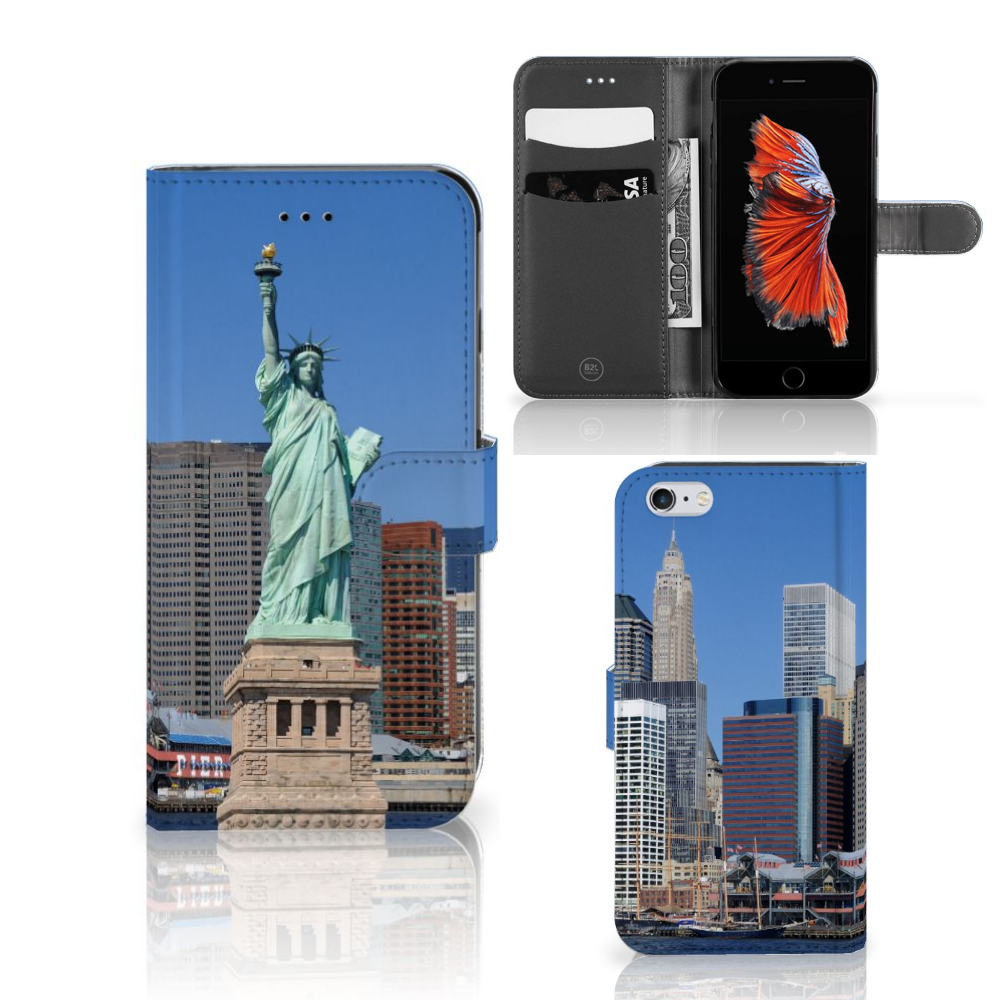 Apple iPhone 6 Plus | 6s Plus Flip Cover Vrijheidsbeeld