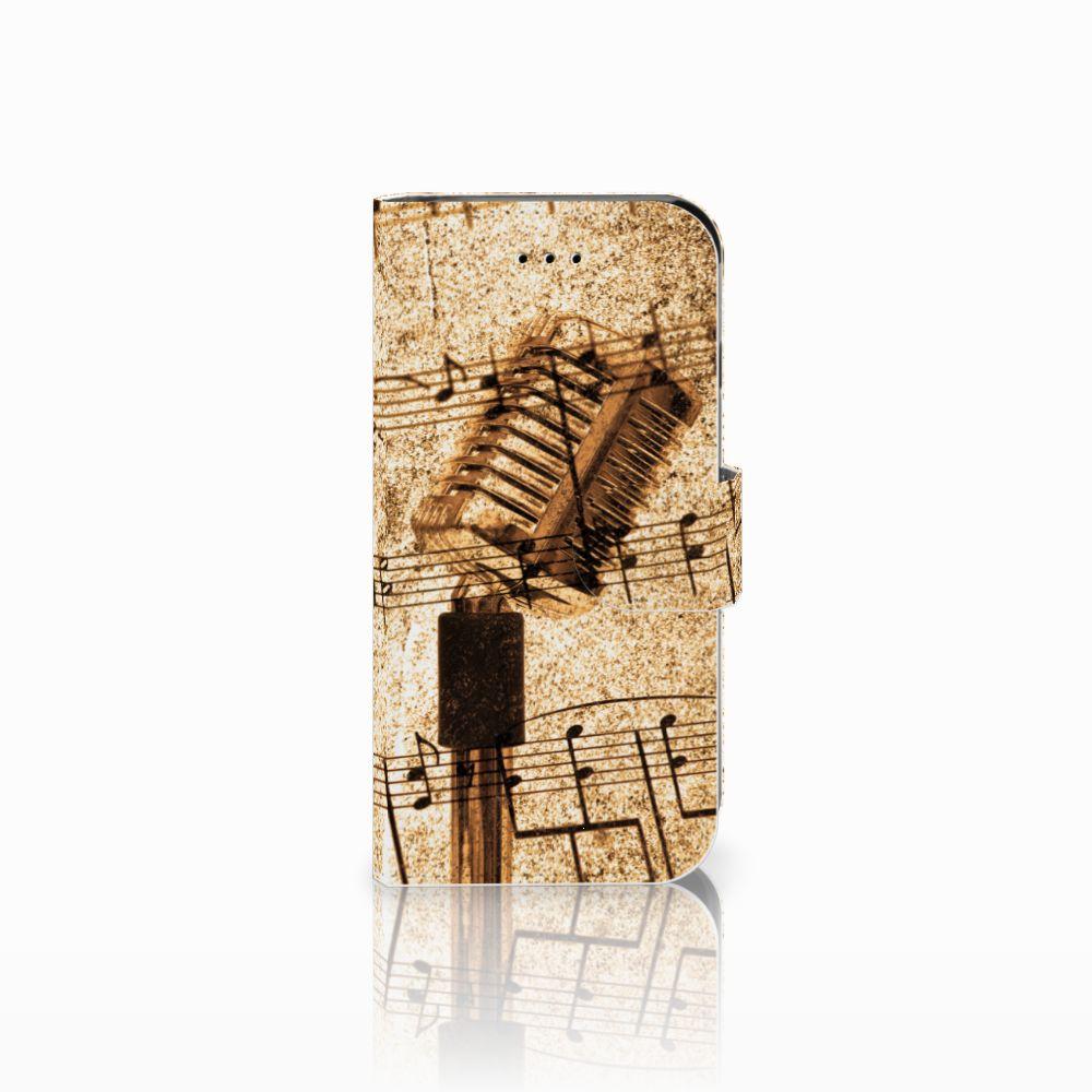 Apple iPhone 6 | 6s Uniek Boekhoesje Bladmuziek