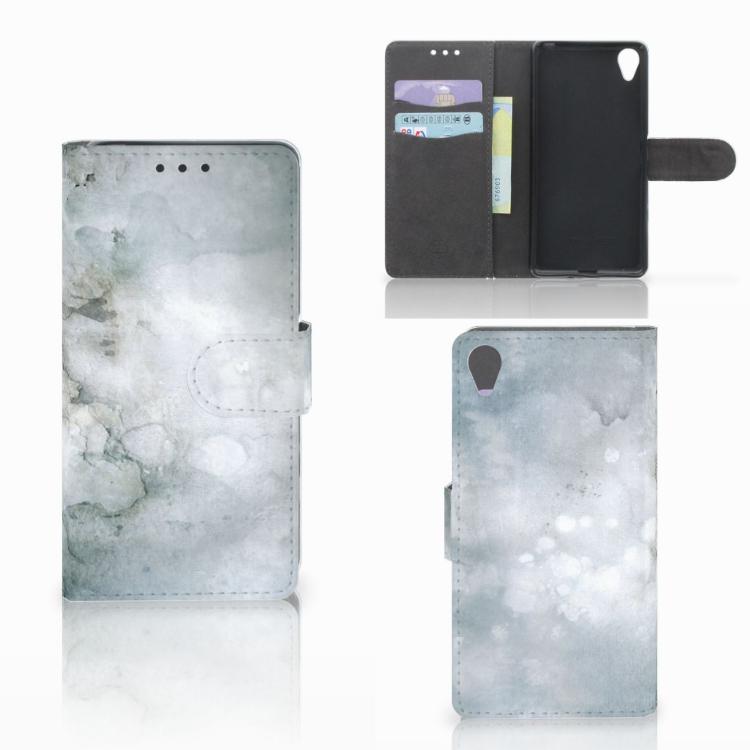 Hoesje Sony Xperia X Painting Grey