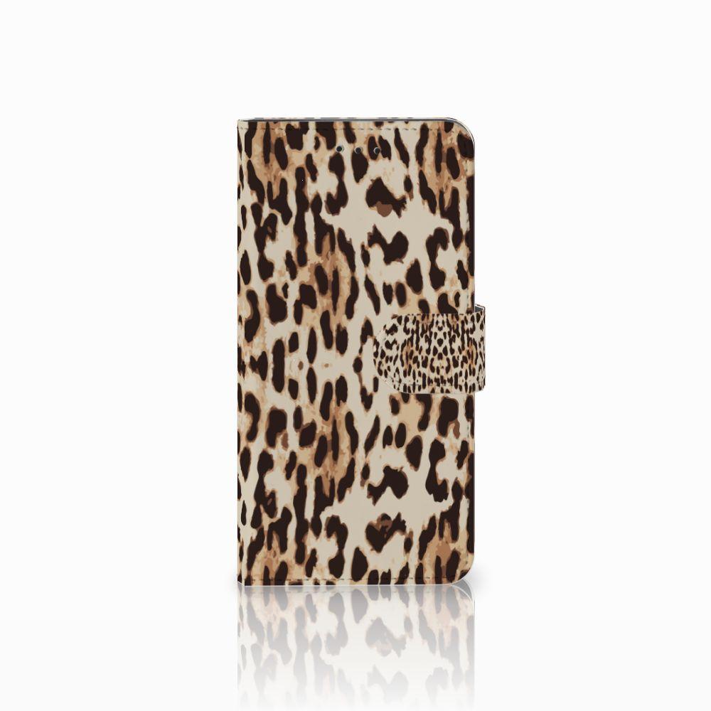 Motorola Moto E5 Play Uniek Boekhoesje Leopard
