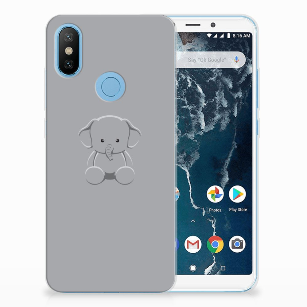 Samsung Galaxy A7 (2018) Boekhoesje Design Skulls