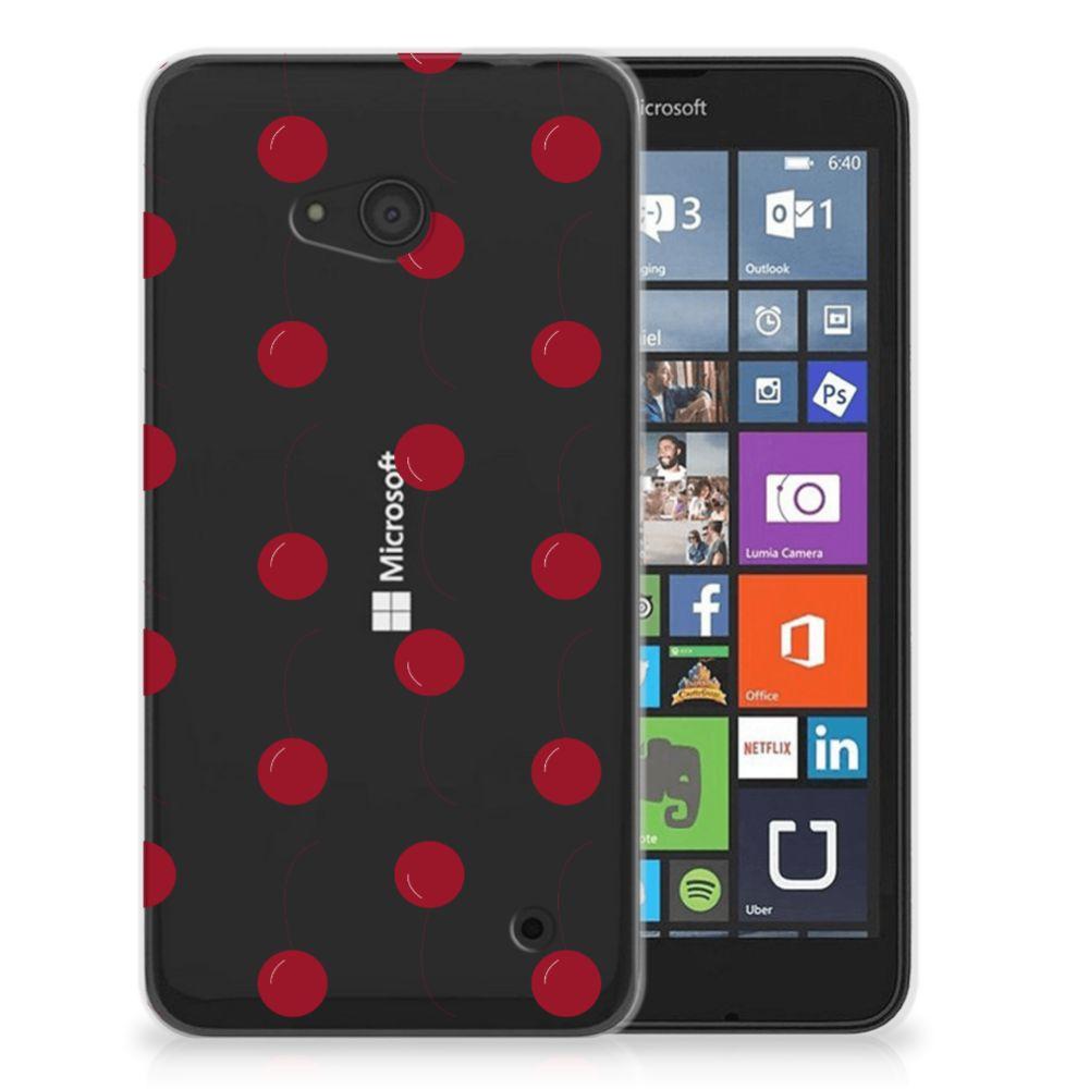 Microsoft Lumia 640 Siliconen Case Cherries