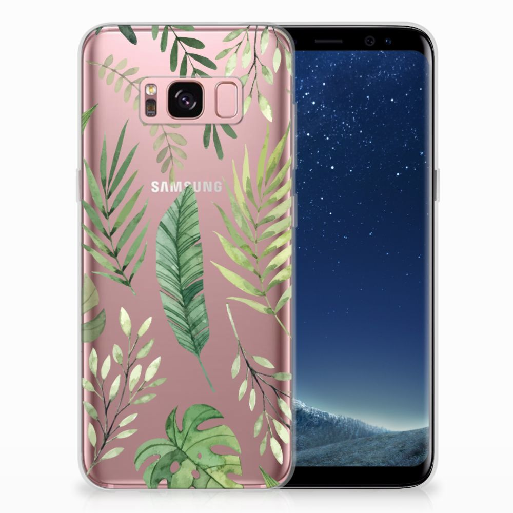 Samsung Galaxy S8 TPU Case Leaves