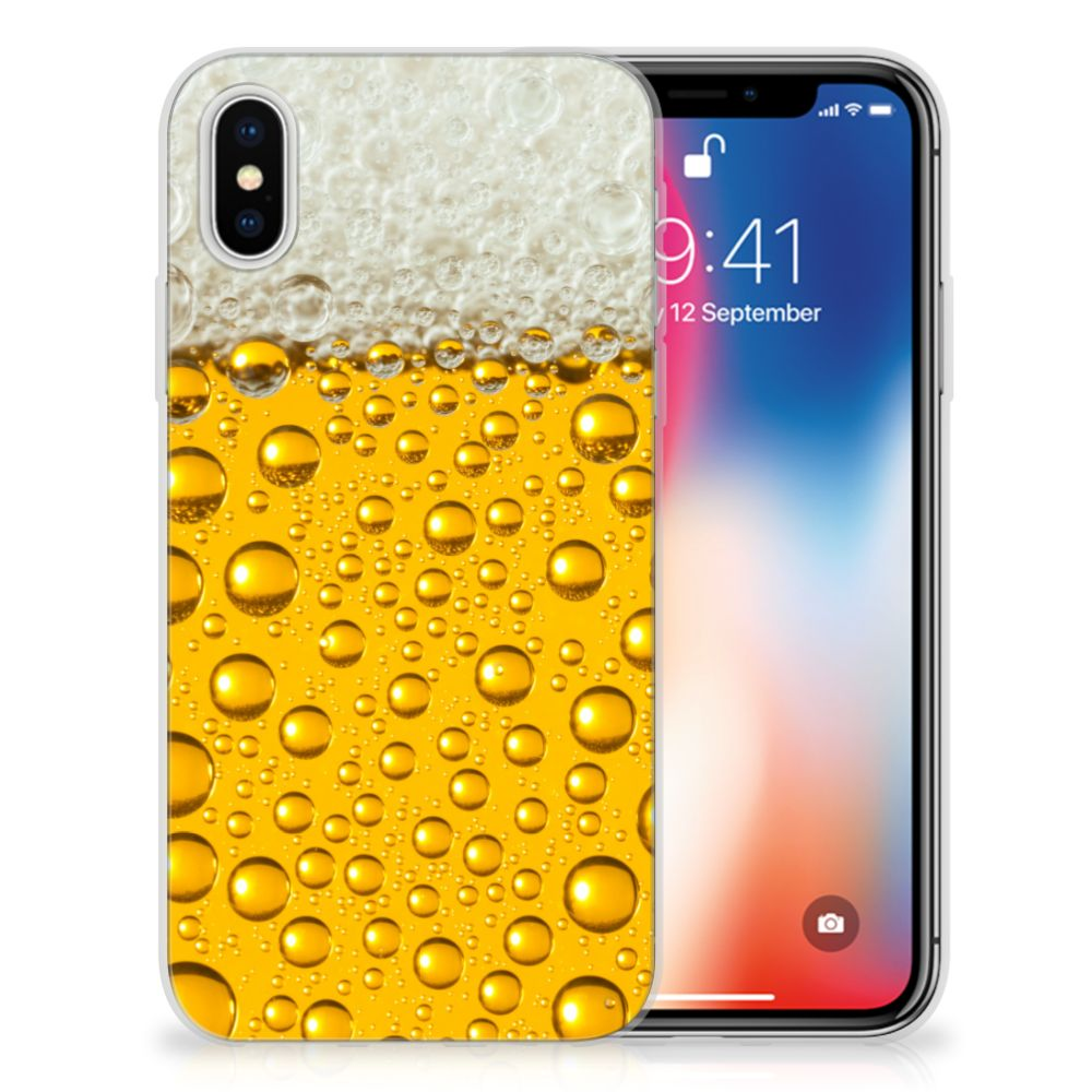 Apple iPhone X | Xs Uniek TPU Hoesje Bier
