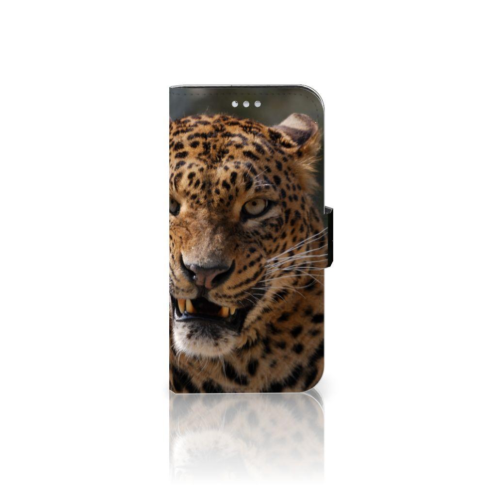 Samsung Galaxy S7 Uniek Boekhoesje Luipaard