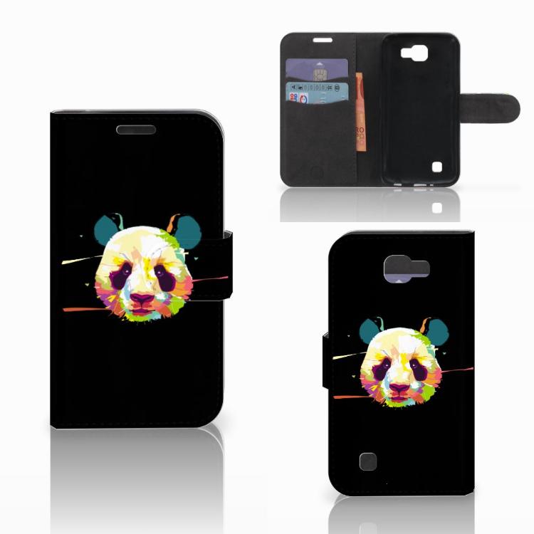 LG K4 Leuke Hoesje Panda Color