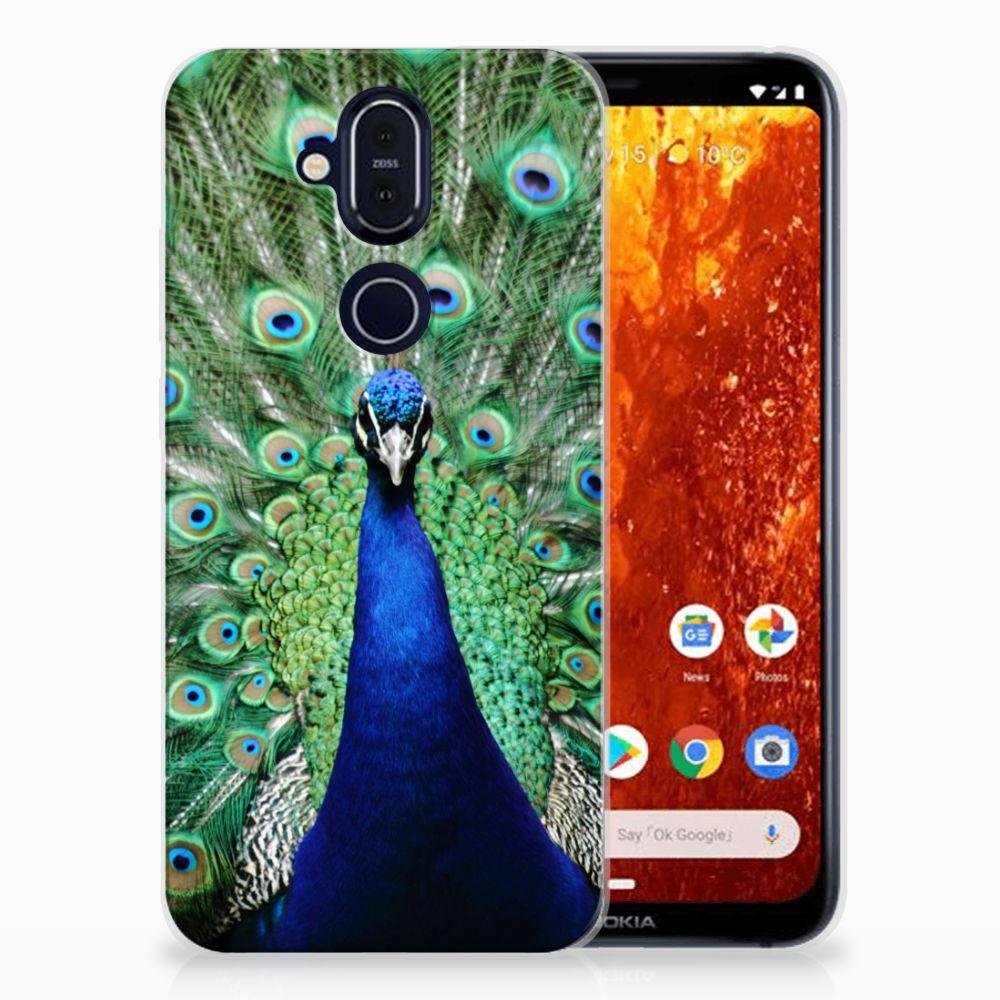 Nokia 8.1 TPU Hoesje Design Pauw
