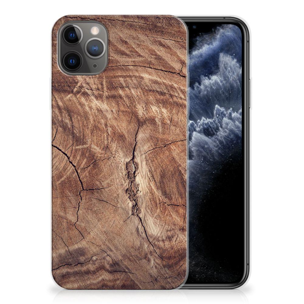Apple iPhone 11 Pro Max Bumper Hoesje Tree Trunk