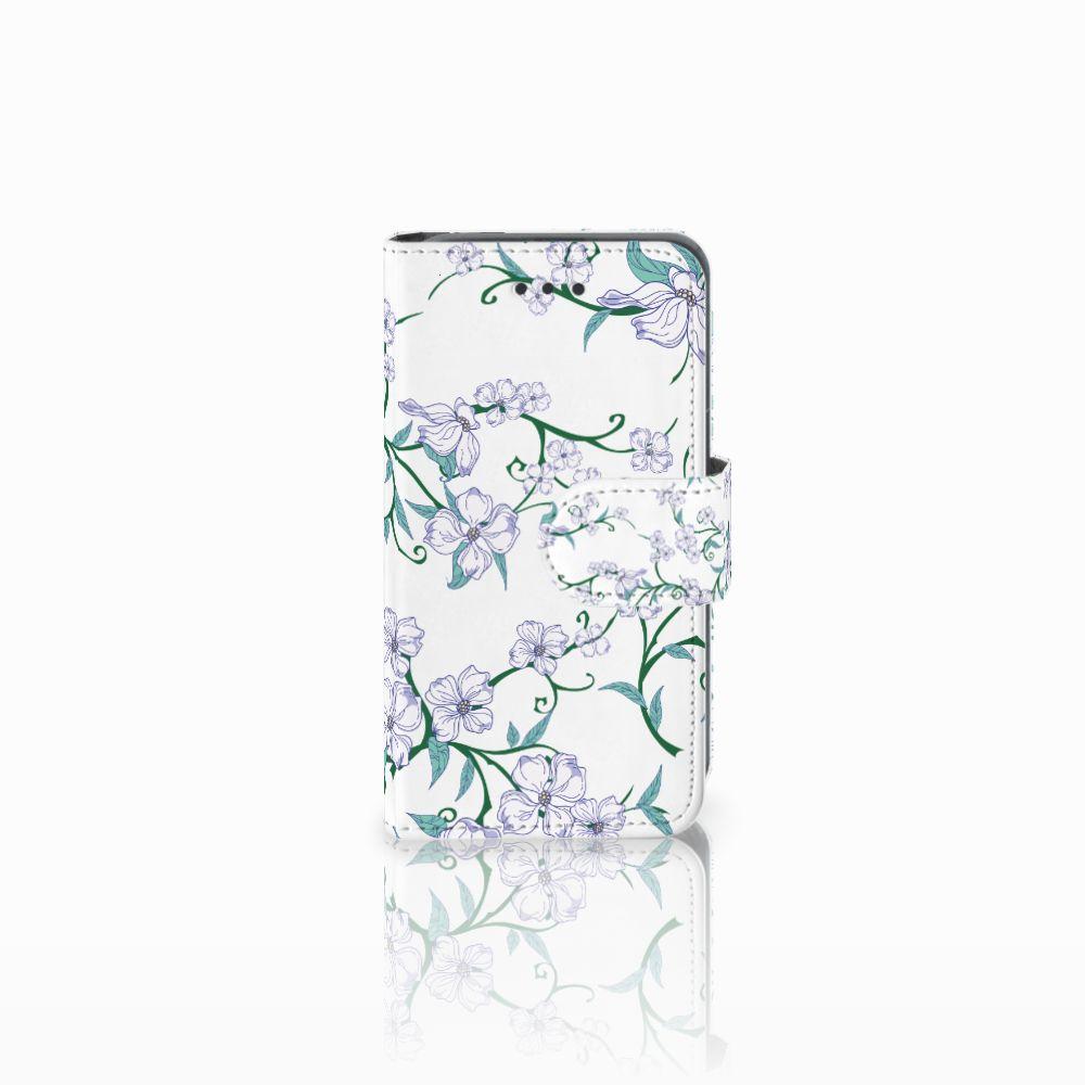 Nokia Lumia 530 Uniek Boekhoesje Blossom White