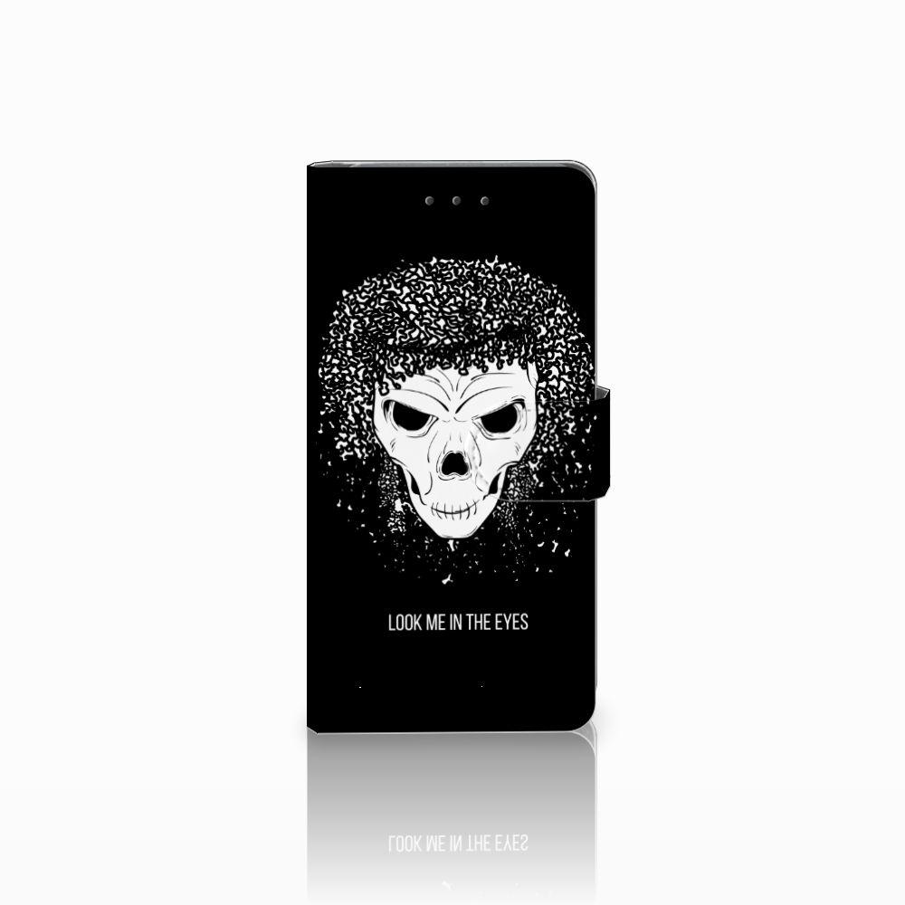 Samsung Galaxy Grand Prime | Grand Prime VE G531F Uniek Boekhoesje Skull Hair