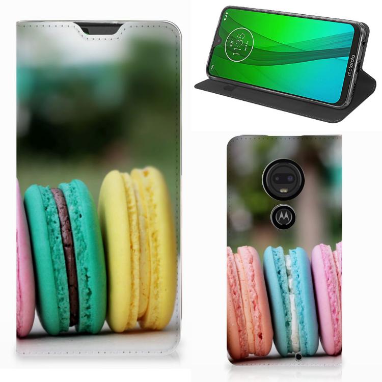 Motorola Moto G7 | G7 Plus Flip Style Cover Macarons