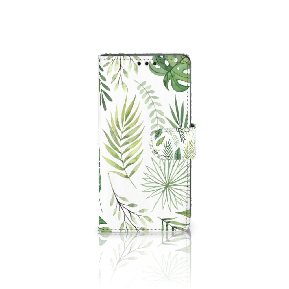 Sony Xperia Z5 | Z5 Dual Uniek Boekhoesje Leaves