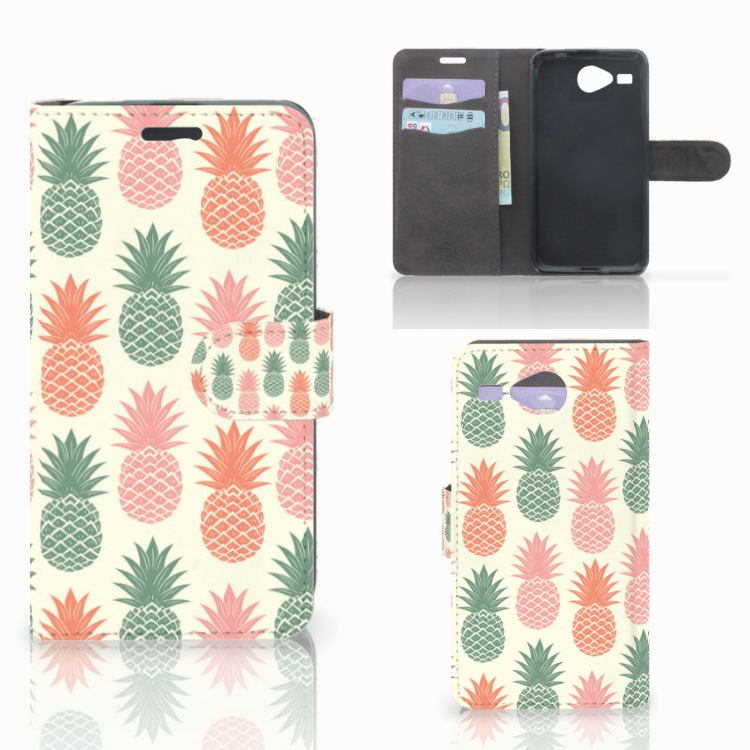 Acer Liquid Z520 Book Cover Ananas