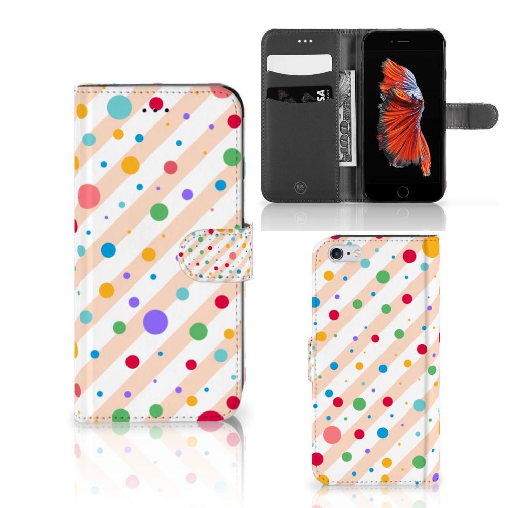 Apple iPhone 6 Plus | 6s Plus Telefoon Hoesje Dots