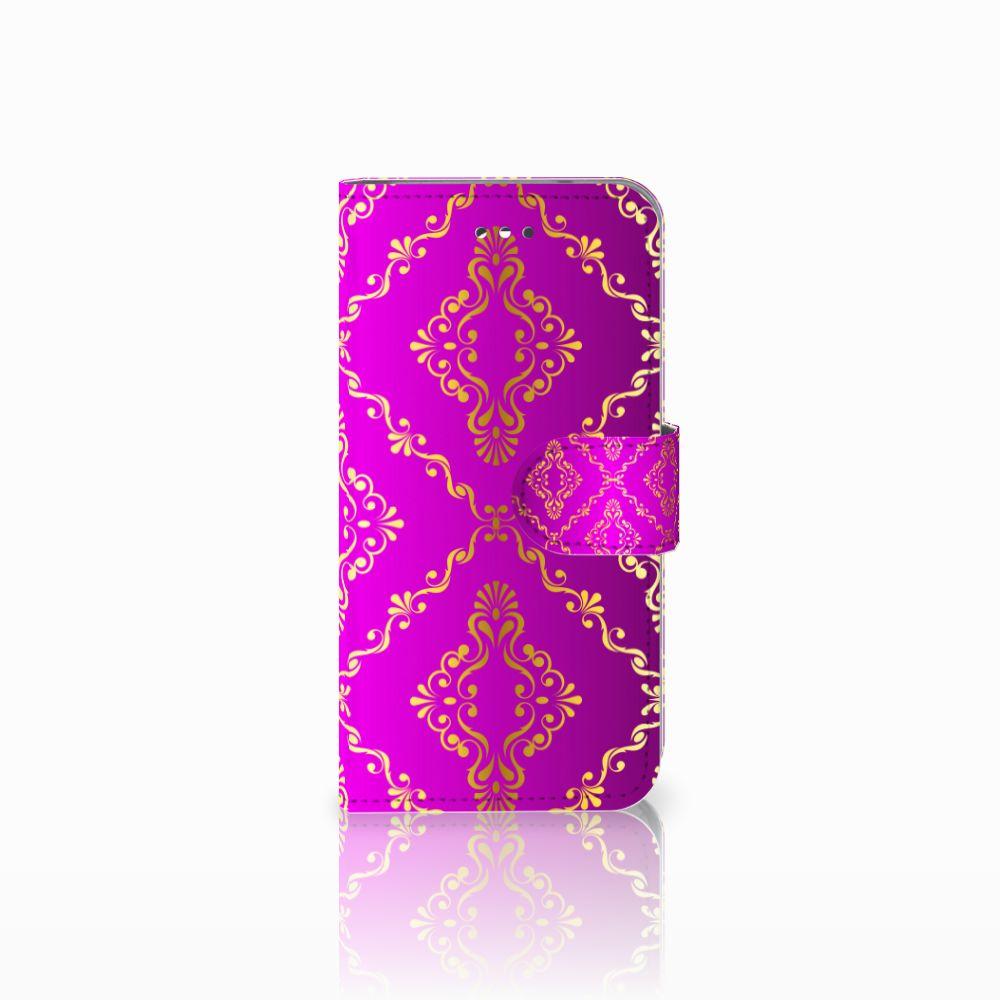Wallet Case LG X Screen Barok Roze