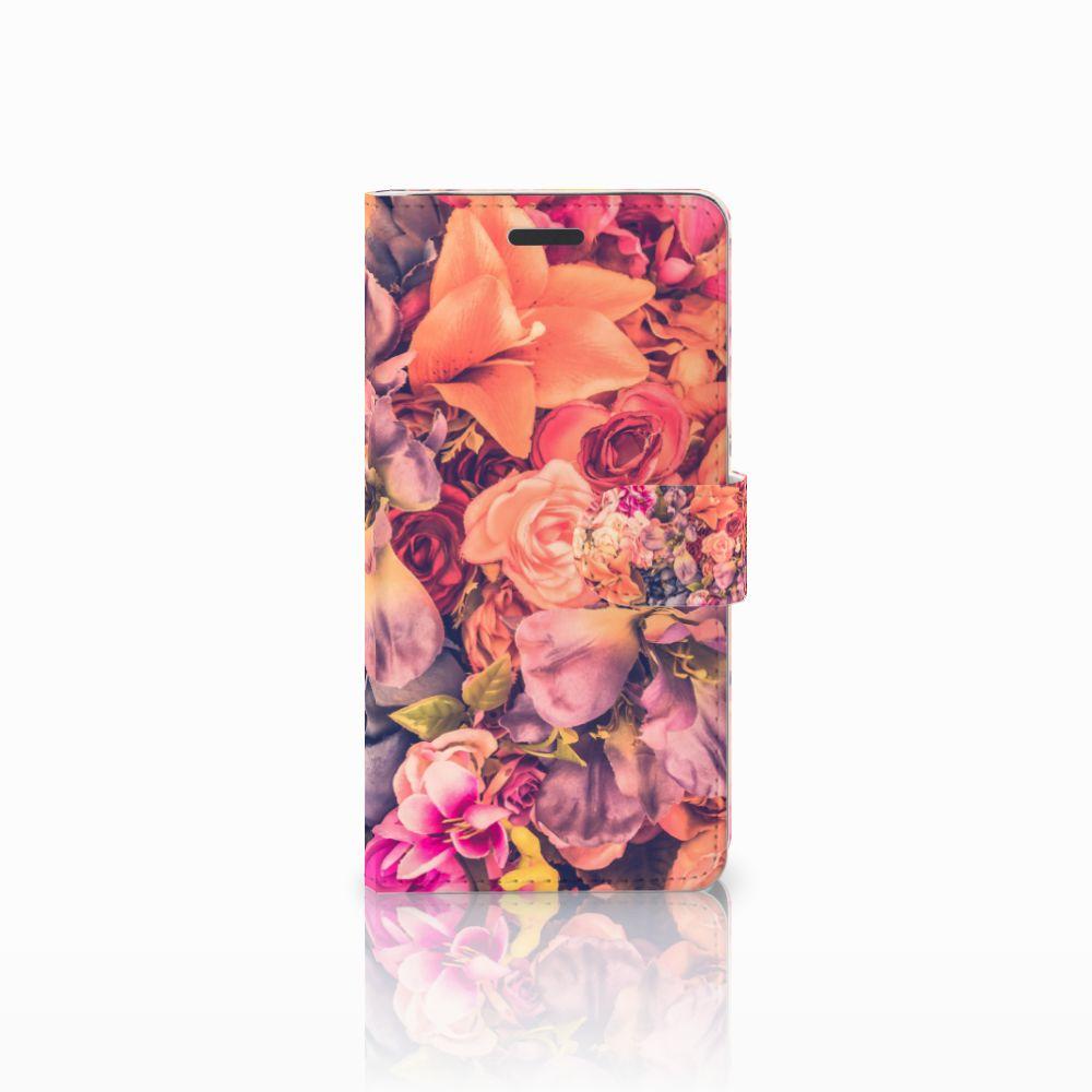 Samsung Galaxy Note 5 Boekhoesje Design Bosje Bloemen