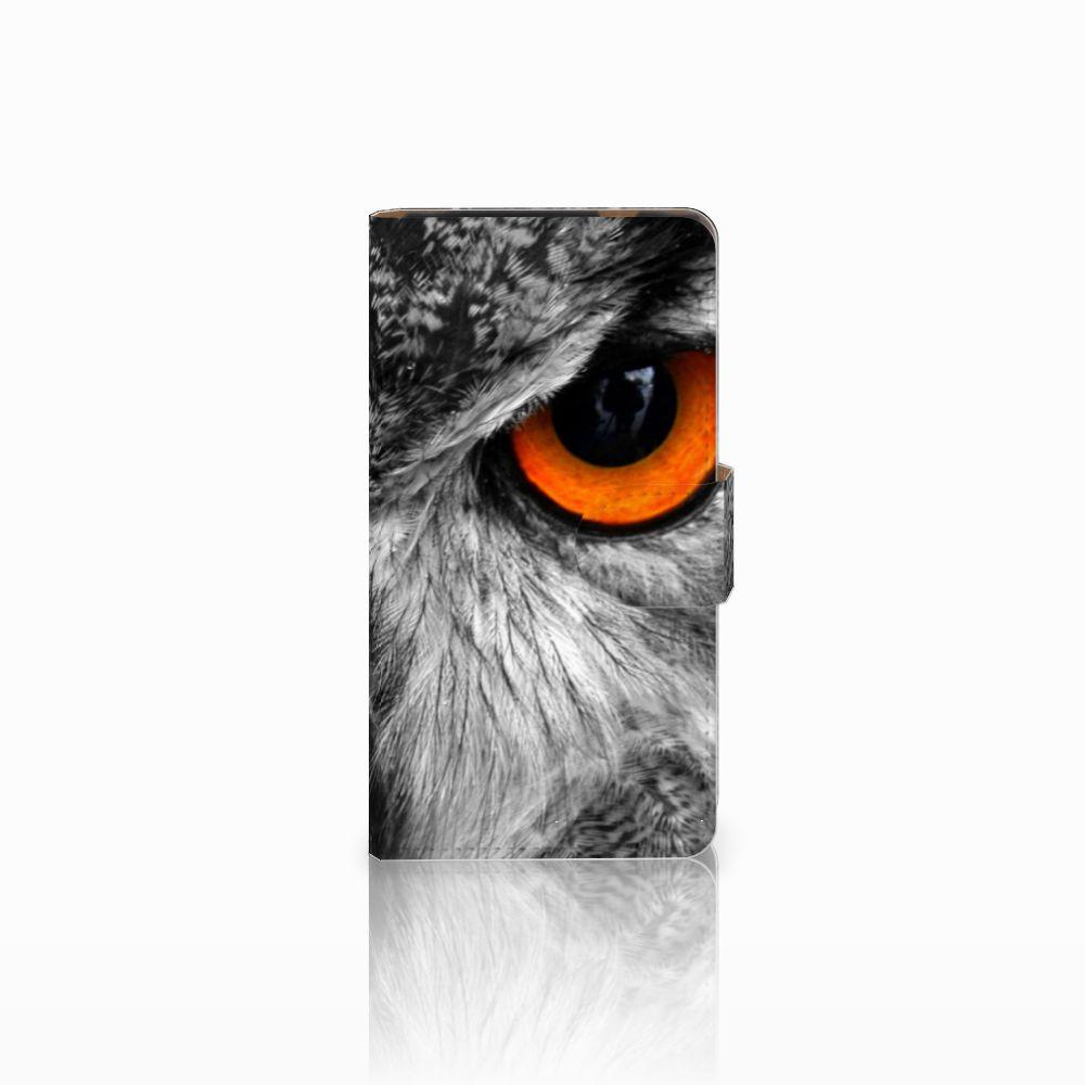 HTC Desire 601 Boekhoesje Design Uil