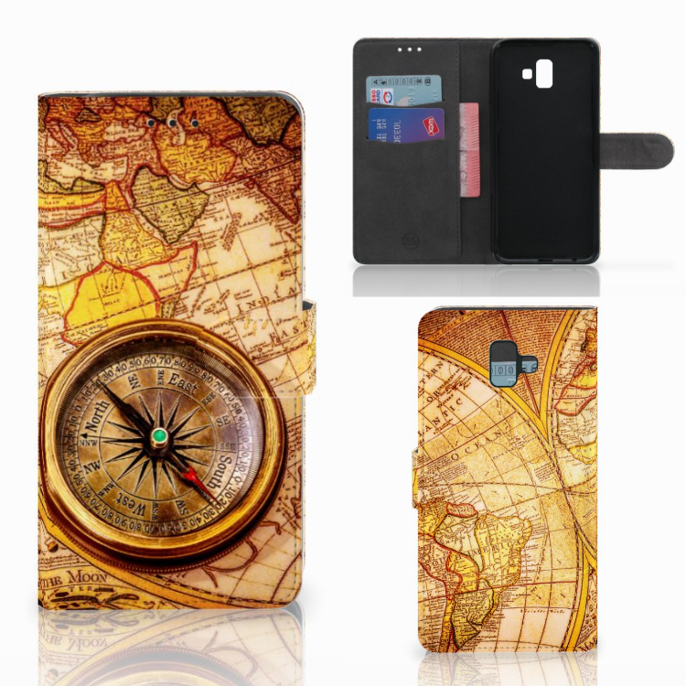 Samsung Galaxy J6 Plus (2018) Flip Cover Kompas