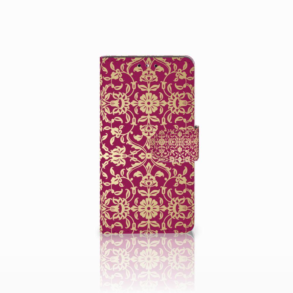 Huawei Y5 | Y6 2017 Boekhoesje Design Barok Pink