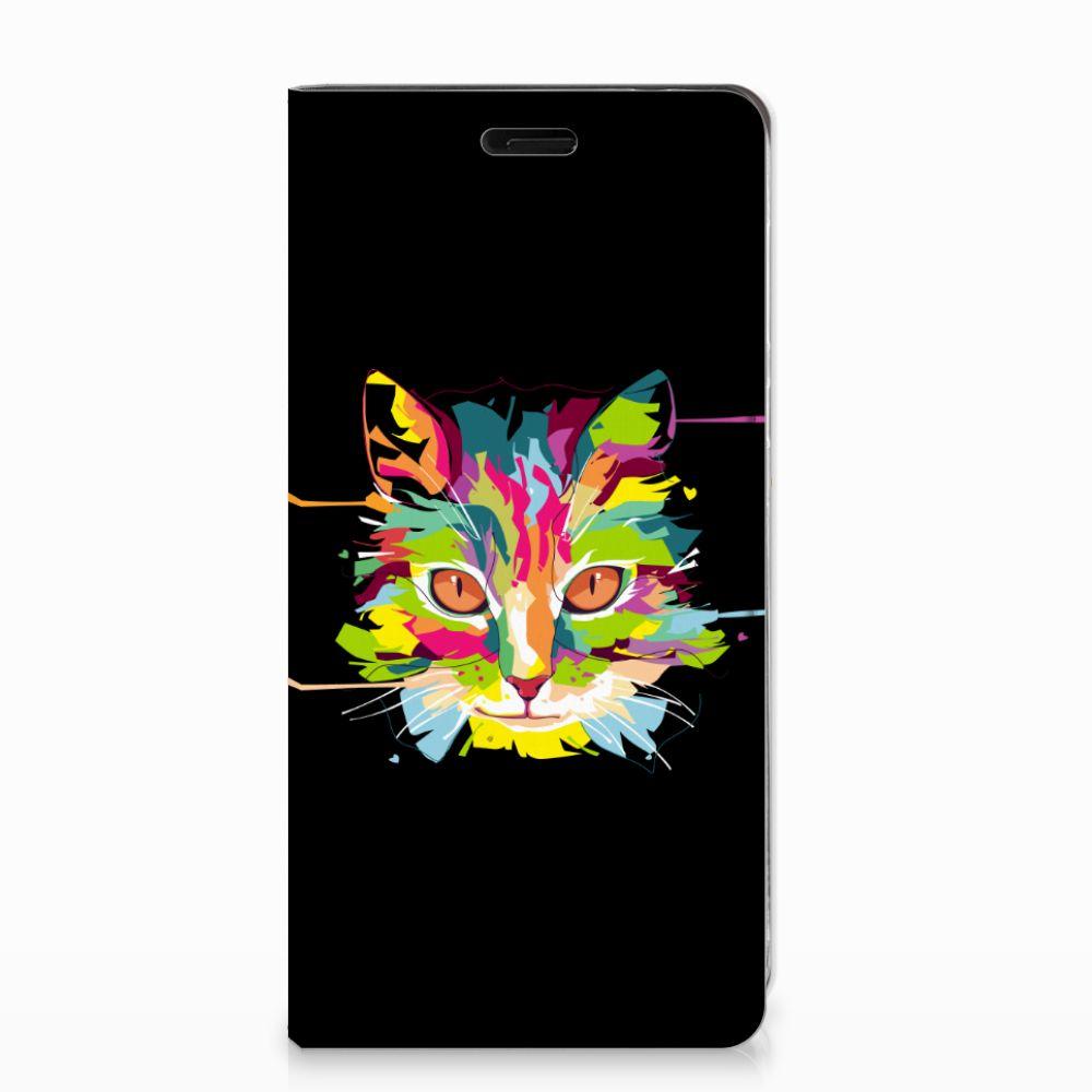 Nokia 8 Magnet Case Cat Color