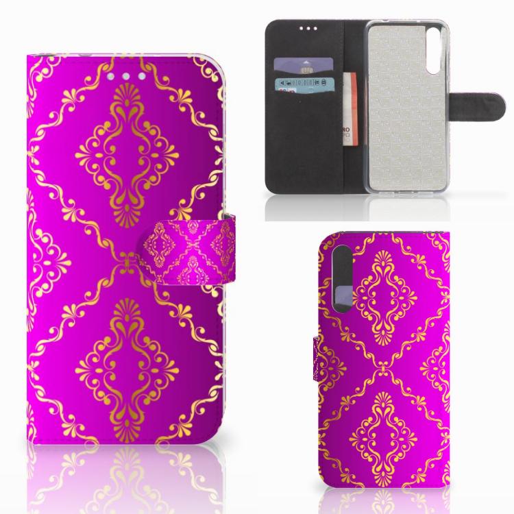 Wallet Case Huawei P20 Pro Barok Roze