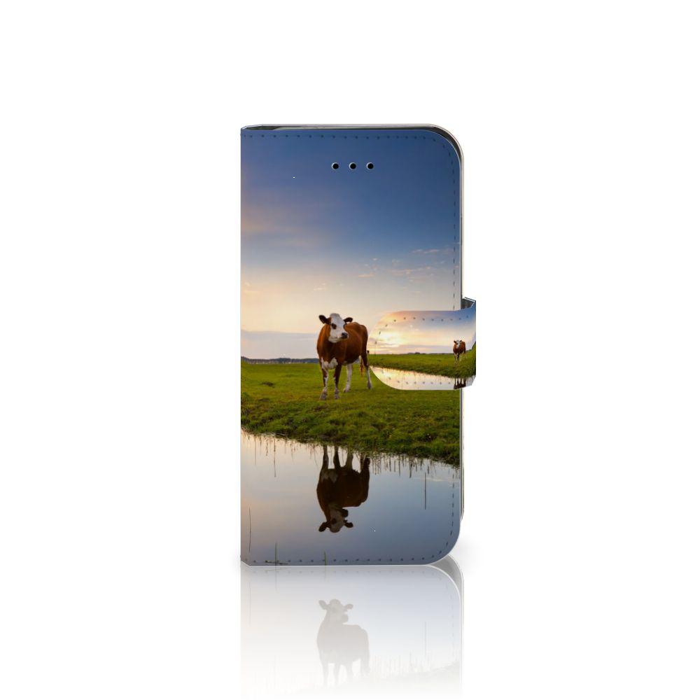 iPhone 7 | 8 | SE (2020) Telefoonhoesje met Pasjes Koe