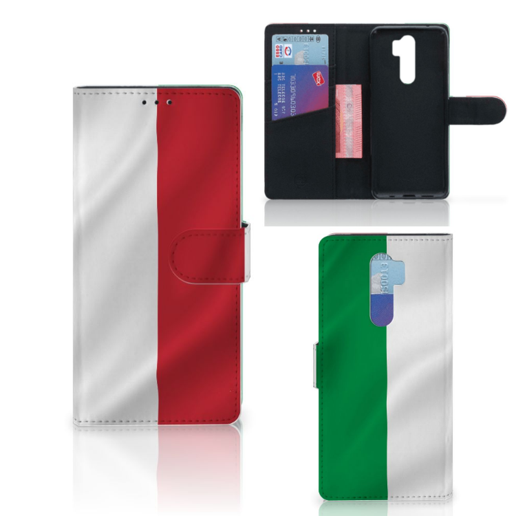 Xiaomi Note 8 Pro Bookstyle Case Italië
