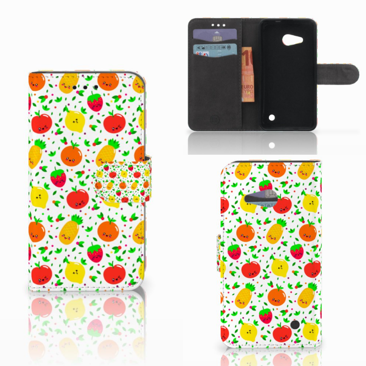 Microsoft Lumia 550 Book Cover Fruits