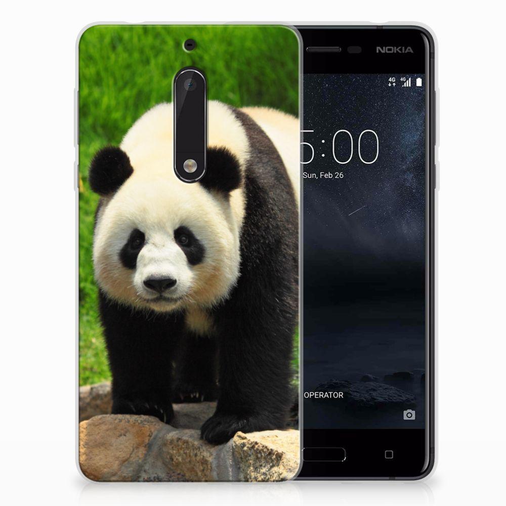 Nokia 5 TPU Hoesje Design Panda