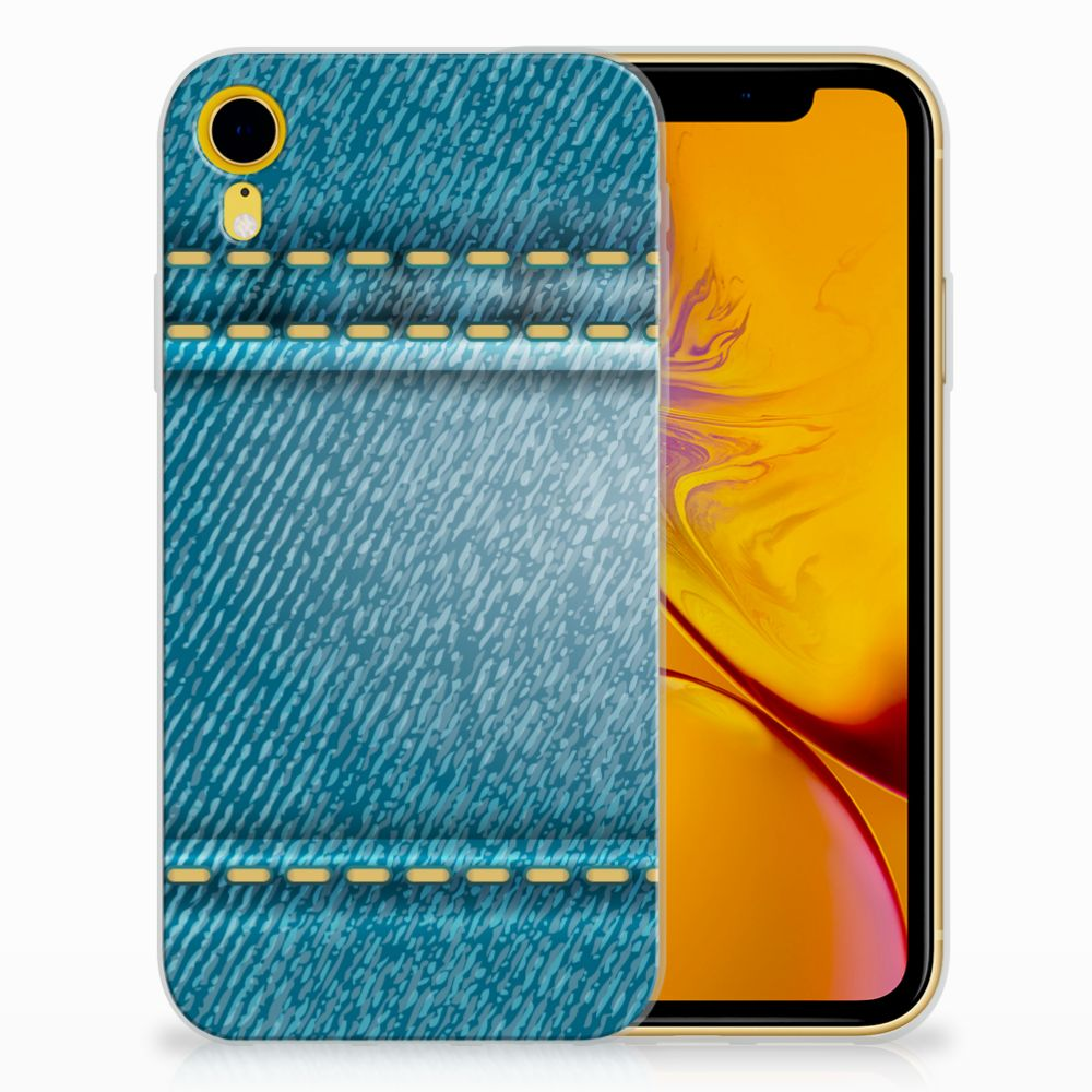 Apple iPhone Xr TPU Hoesje Design Jeans