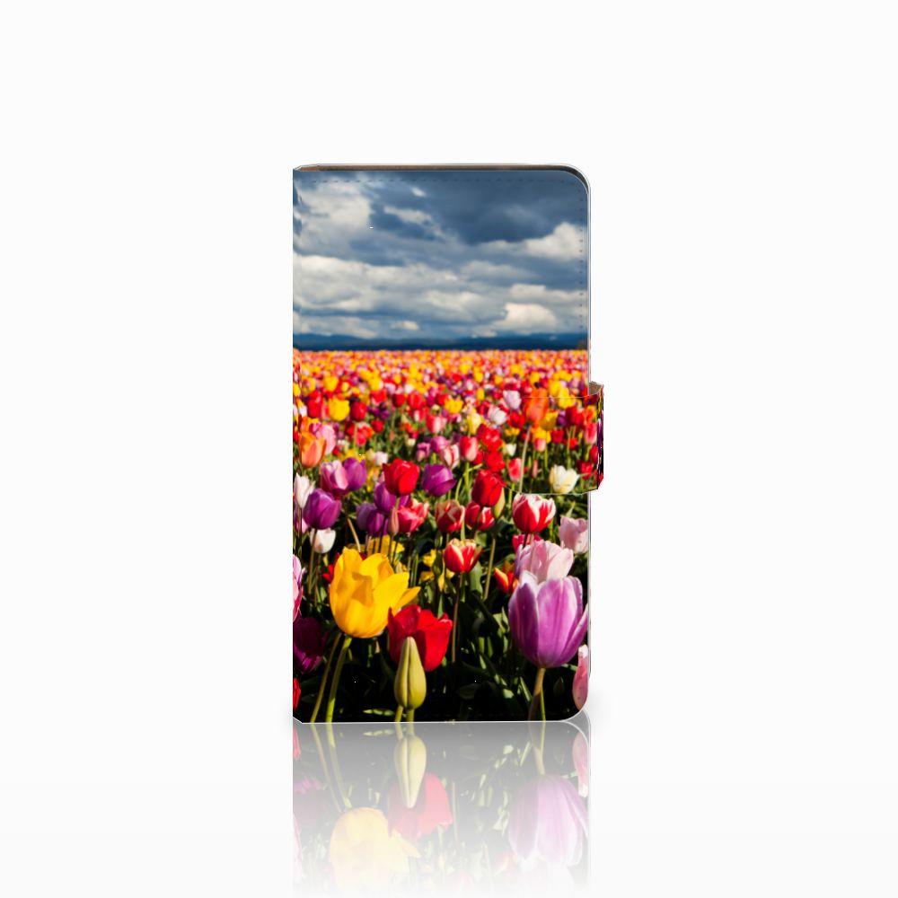 Huawei Ascend G700 Uniek Boekhoesje Tulpen