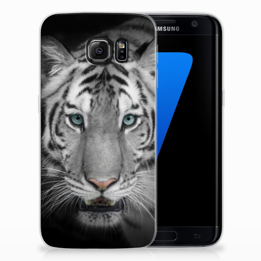 Samsung Galaxy S7 Edge Uniek TPU Hoesje Tijger