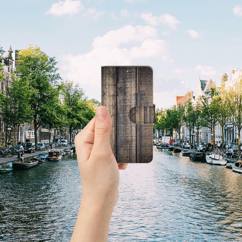 Huawei Y5   Y6 2017 Book Style Case Steigerhout