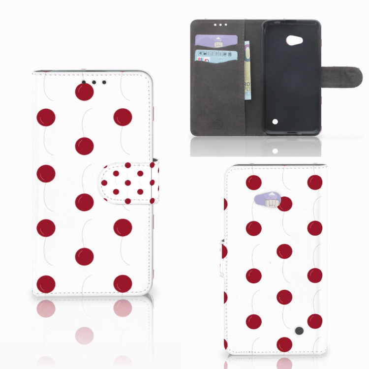 Microsoft Lumia 640 Book Cover Cherries