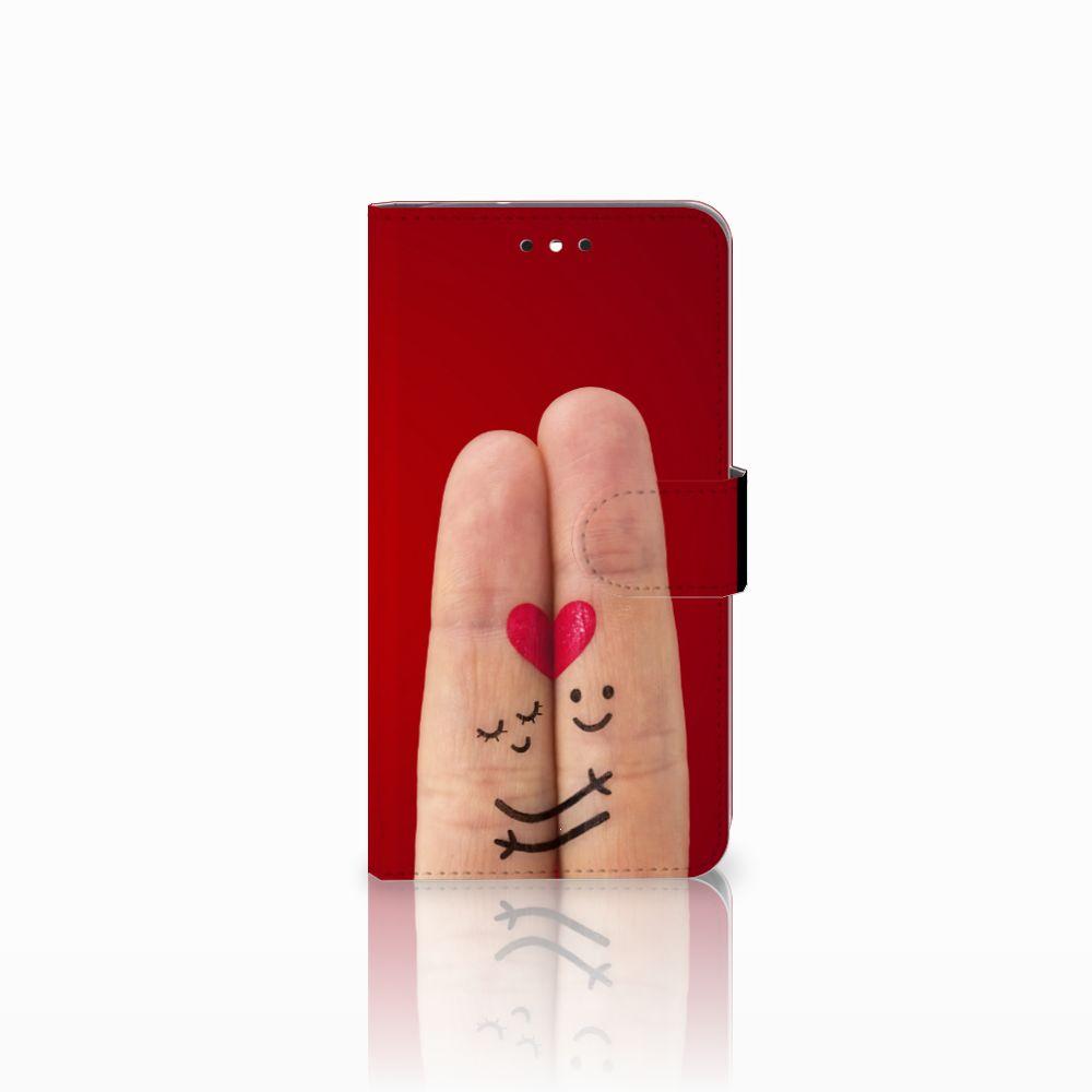 Motorola Moto G4 | G4 Plus Uniek Boekhoesje Liefde