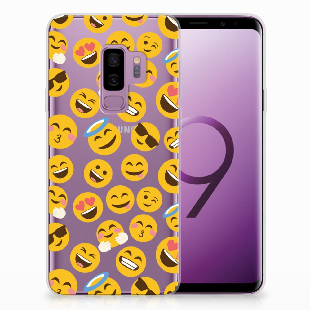 Samsung Galaxy S9 Plus TPU Hoesje Design Emoji