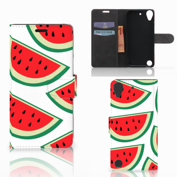 HTC Desire 530 Book Cover Watermelons
