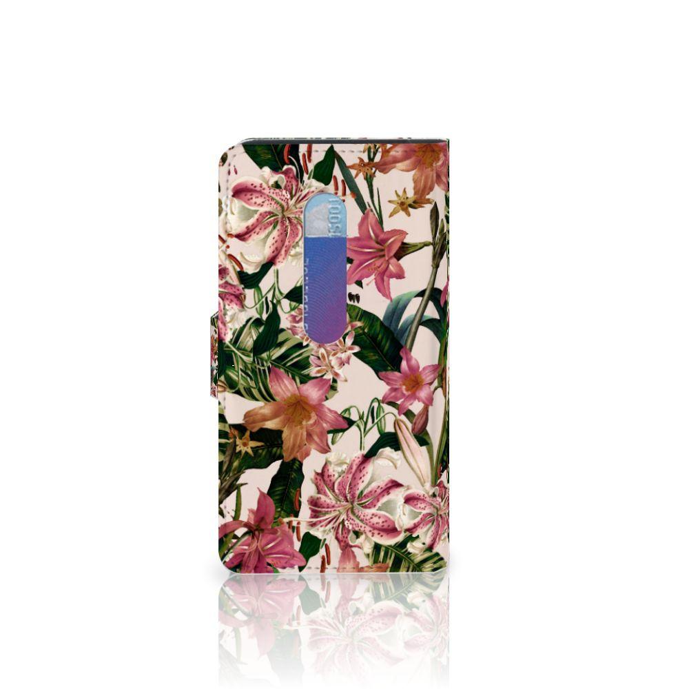 Motorola Moto G 3e Generatie Hoesje Flowers