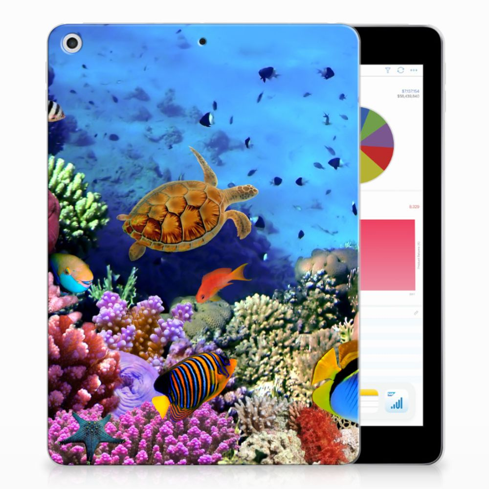 Apple iPad 9.7 2018 | 2017 Back Case Vissen