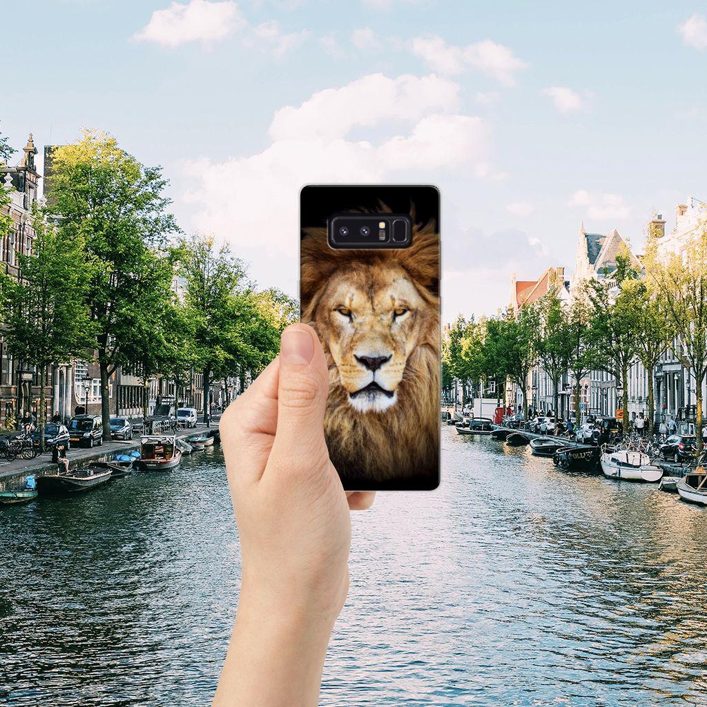 Samsung Galaxy Note 8 TPU Hoesje Leeuw
