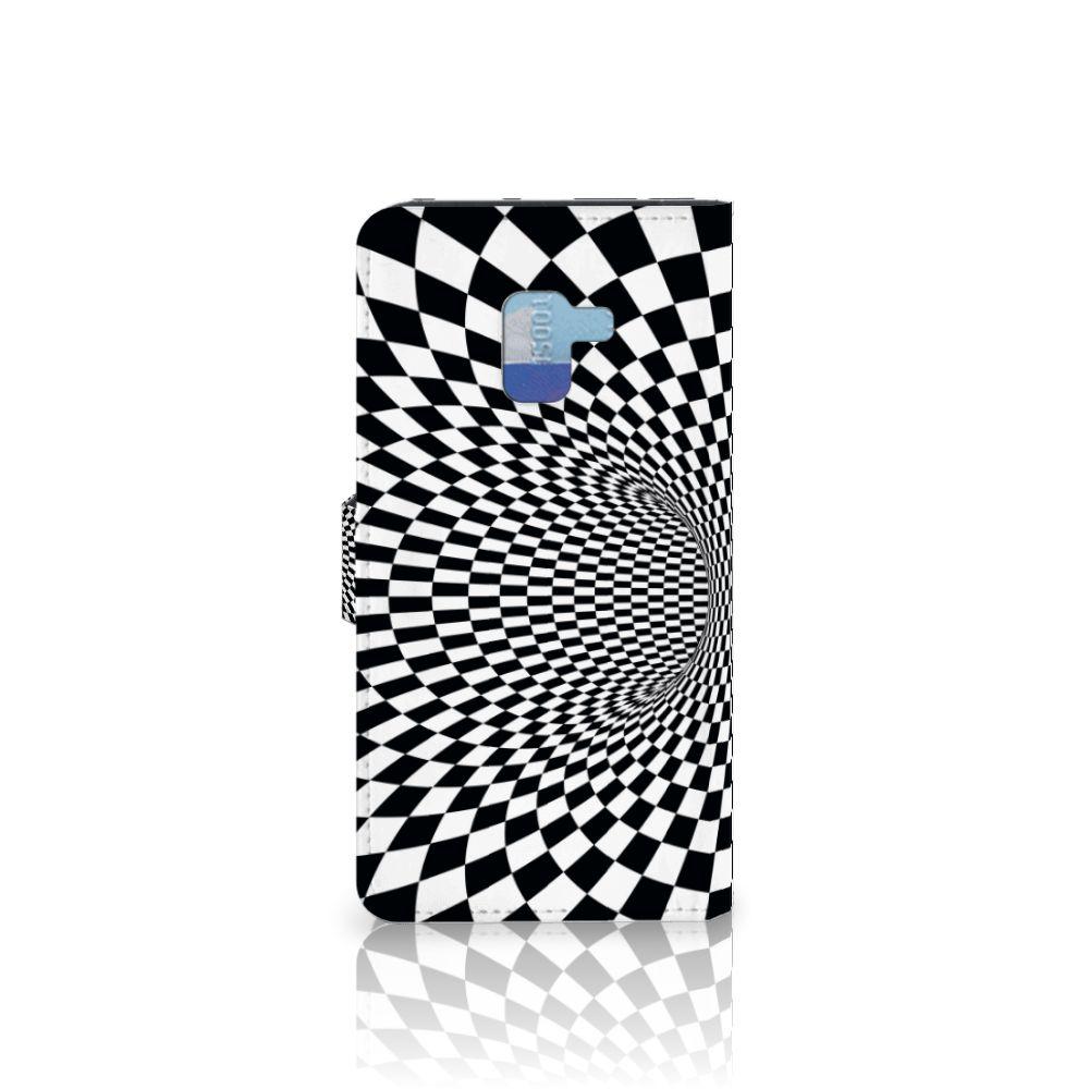 Samsung Galaxy A8 Plus (2018) Bookcase Illusie