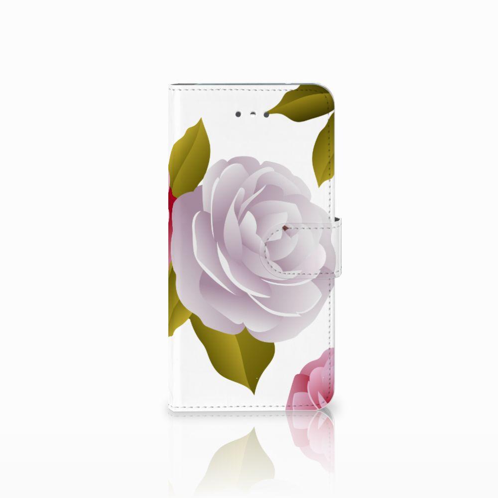 LG Nexus 5X Uniek Boekhoesje Roses
