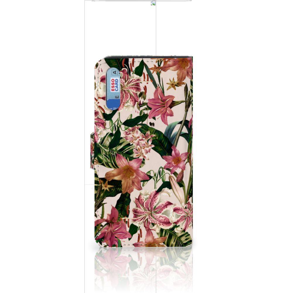 Huawei P20 Hoesje Flowers