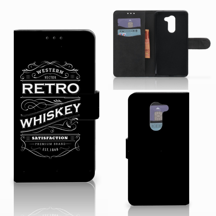 Huawei Honor 6X Book Cover Whiskey